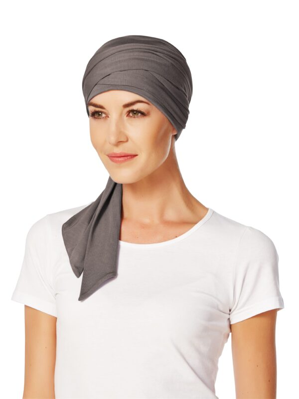 Šatka Christine Headwear Mantra Scarft, Grey/Brown - taktrochainak.sk