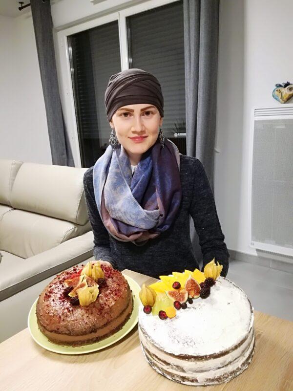 Šatka turban na hlavu pre onkologickych pacientov po chemoterapii - taktrochainak.sk