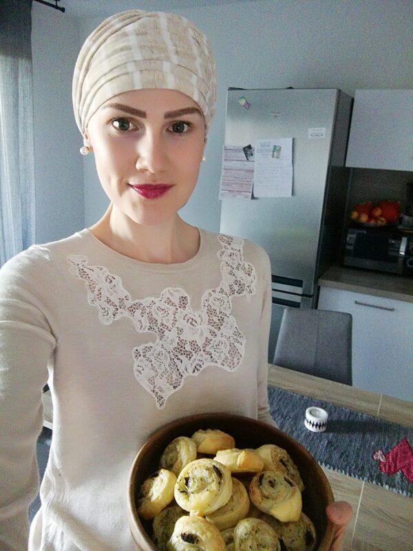 Šatka na hlavu pre onkologických pacientov Erika - taktrochainak.sk