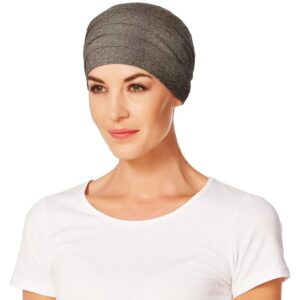 Turban, šatka pre onkologických pacientov.Yoga warm brown- taktrochainak.sk