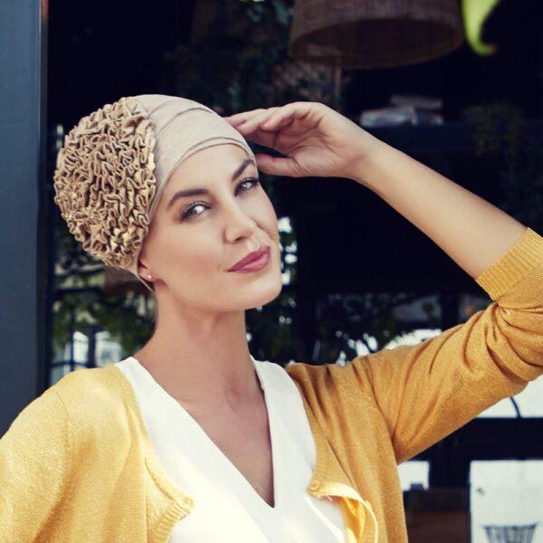 Turban, šatka na hlavu pre onkologických pacientov - taktrochainak.sk