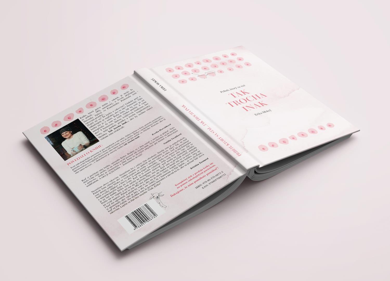 Kniha Tak trocha inak, Erika Mokry - taktrochainak.sk