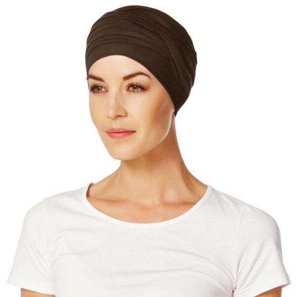 Turban, čiapka na hlavu po chemoterapii, pre ženy bez vlasov - taktrochainak.sk