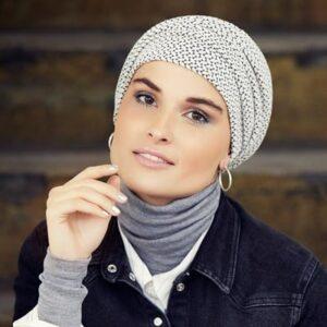 Turban po chemoterapii Zoya zimný-taktrochainak.sk