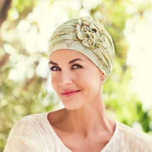 Letný turban, čiapka na hlavu po chemoterapii