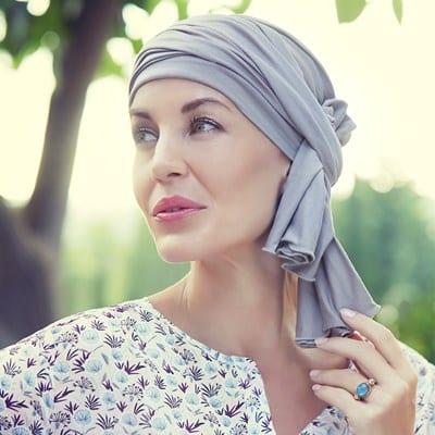 Turban na hlavu po chemoterapii