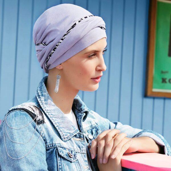 turban-ciapka-pre-onkologicke-pacientky-emmy-lavander-taktrochainak.sk