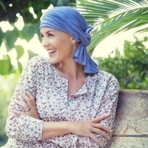 Turban po chemoterapii Tula modry-taktrochainak.sk