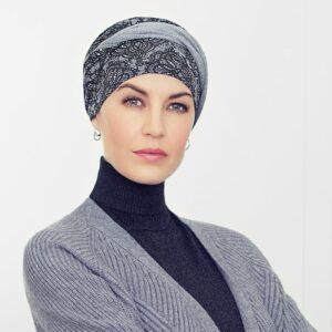 Turban na hlavu po chemoterapii Shakti rococo - taktrochainak.sk
