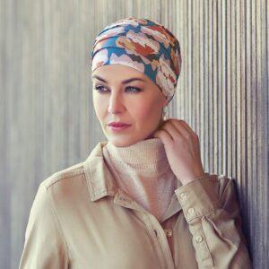 Turban na hlavu po chemoterapii Yoga autumn - taktrochainak.sk