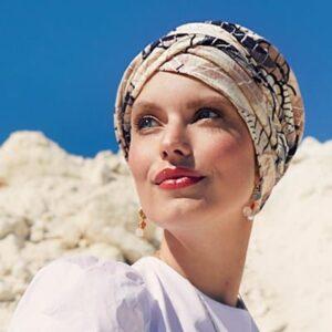 Šatka, turban, čiapka po chemoterapii na leto, shakti2- taktrochainak.sk