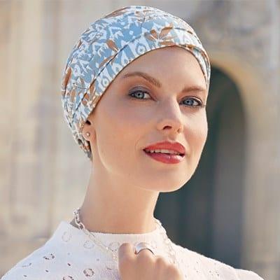 Moderná šatka turban po chemoterapii - taktrochainak.sk